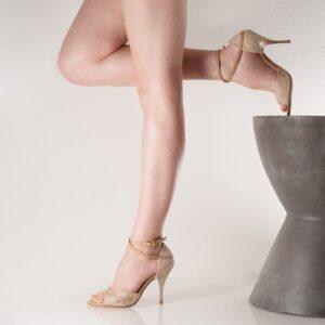 Betty W_B Lace Beige x Plain Camel