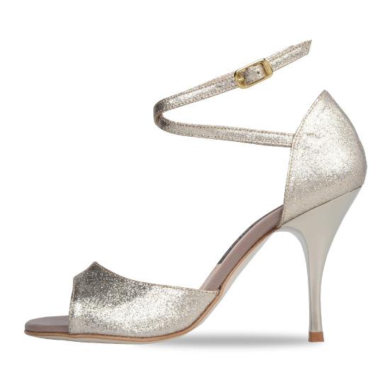 EMILY W_B Glitter Bronze Platina